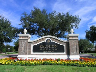 Photo for Luxury Three Bed Reunion Vacation Home - Sleeps 8. Six miles from Disney
