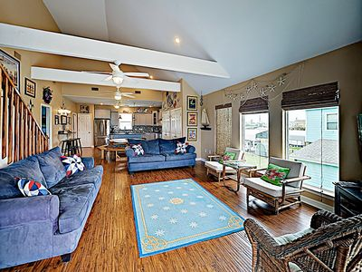 Photo for New Listing! Choice Family Getaway w/ Deck & Updated Kitchen - Stroll to Sand