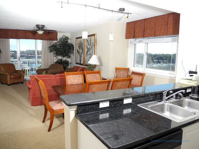 Photo for Barefoot Resort North Tower Unit 509! 4BR/ Amazing Waterway Views! Golf and Shopping