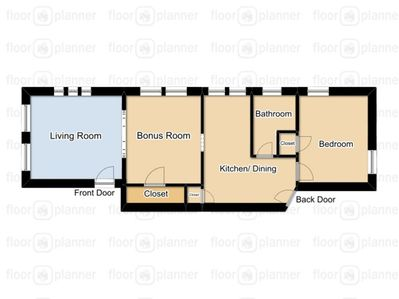 Floor Plan Of Your Private Apartment
