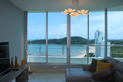 Amazing view from the living room