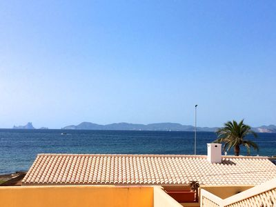 Photo for Spacious  Apartment With Unrestricted Panoramic Views Across The Sea To Ibiza