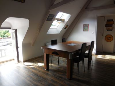 Photo for beautiful apartment full of charm on the port of Dinan, Brittany France