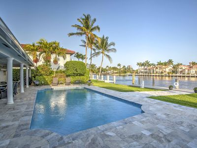 Photo for Waterfront Fort Lauderdale House w/ Dock & Pool!