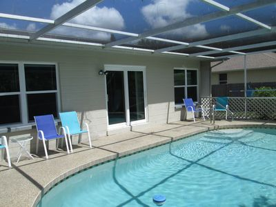 Photo for 4-Bedroom Pool Home Convenient To Beaches