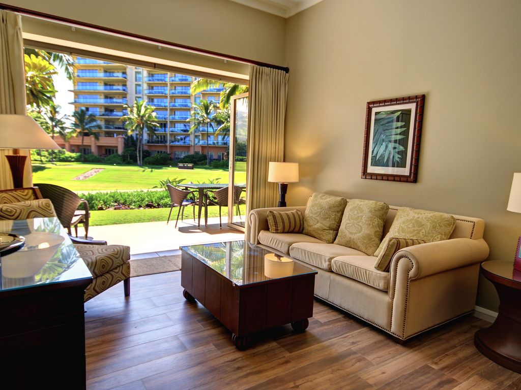 Honua kai ground floor unit k106 sunny side center of resort free car