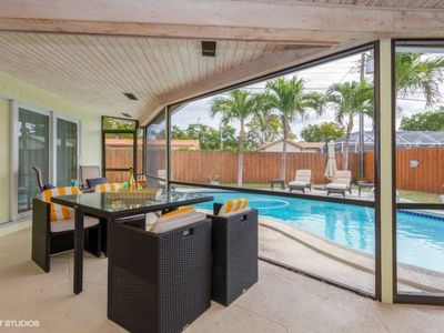 Photo for Wonderful 4 bedroom home with pool