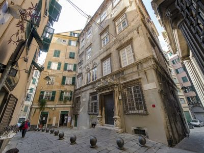 Photo for Casa dei Velieri - Two bedrooms apartment in the historic center of Genoa