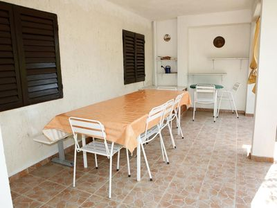 Photo for Two bedroom apartment with terrace Vrgada (Biograd)