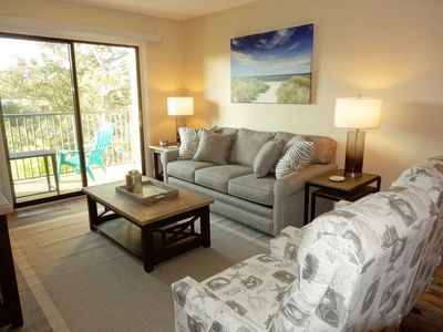 Photo for 2 Bedroom 2 Bathroom Poolside Flat  at Xanadu Villas, Hilton Head, SC