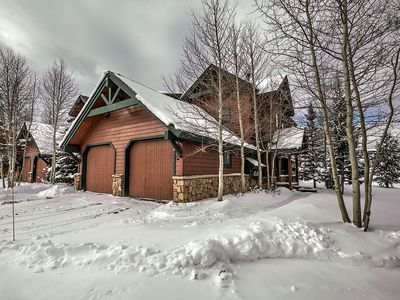 Photo for SNOW has ARRIVED and YOU need to stay HERE !!