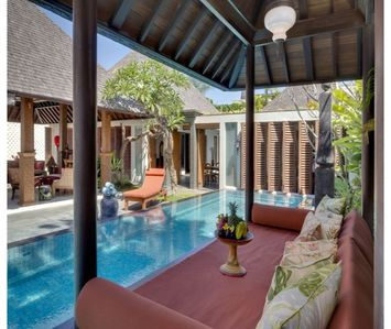 Photo for 4 Bedroom Seminyak Villas Near Eat Street, Seminyak Beach
