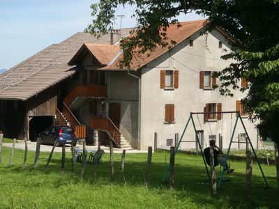 Photo for T3 with garden in mini farm 10 minutes from Thonon and Lake Leman