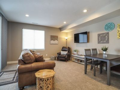 Photo for Edgewater 21: New Large 1 Bedroom w/hot tub near Snowbasin and Pineview