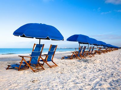 Luxurious and Quiet Condo.....Just Steps From The Beach!!