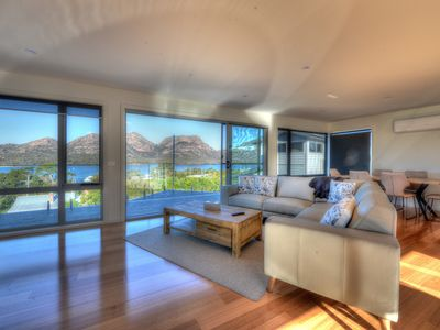Photo for Stunning ocean views, located in the heart of Coles Bay