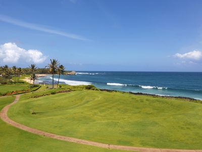 Photo for Poipu Sands at Poipu Kai #521: Great Oceanfront view & walking distance to Beach