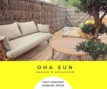 Photo for OHA SUN - On the Arcachon basin, between the Pyla dune and Cap ferret