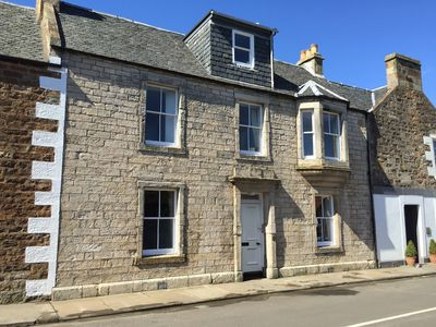 Photo for Lovely 4 Bedroom House In The Center of Elie,  Meters from The Sea and Amenities