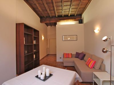 Photo for Pantheon Guardiola III - 1 bedroom near Pantheon and Piazza Navona
