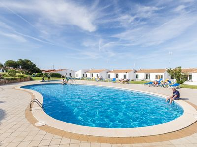 Photo for APARTMENT WITH PRIVATE GARDEN, POOL AND NEAR THE BEACH