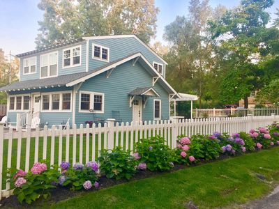 Photo for Restored Cottage Across The Street From The Beach ~ 5 BR / 3 BA