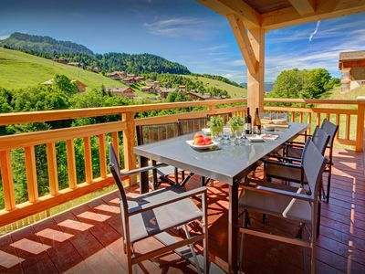Photo for 5* Relax around the open fire or watch all the piste action - OVO Network