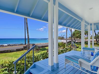 Photo for Home Of The Cherished Seacoast: Great Oceanfront Views & Steps from Poipu Beach