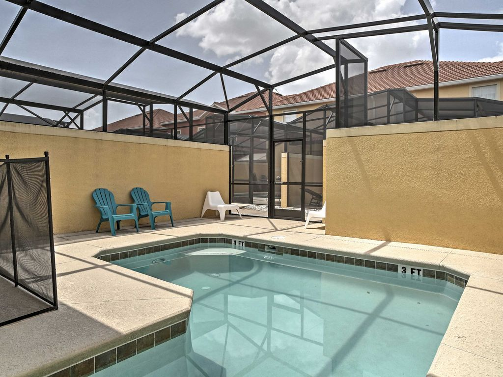 NEW! 4BR Kissimmee Townhome w/ Private Pool! - 4636163