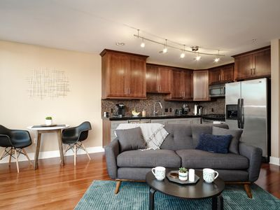 "Photo for ""The Robin's Nest"" - Modern SE Portland Belmont Condo with Garage Parking"