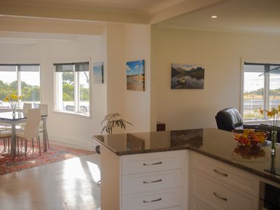 Photo for Luxury holiday home right on the ocean with 2 bathrooms and stunning ocean views
