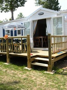 Photo for Camping Les Dunes ***** - Mobile Home 4 Rooms 6 People