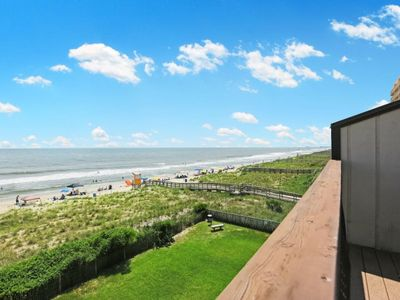 Photo for Island Time: Oceanfront unit at Carolina Beach, Swimming pool