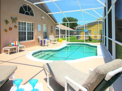 Photo for Low price New Disney Villa, Sparkling Clean, Private Pool, Game Room,Theme Rooms