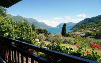Photo for Bellagio house unique location with garden and lake views