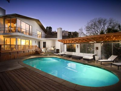 Photo for Perfect Mid-century Hollywood Retreat With Pool and Fresh Luxury Furnishings