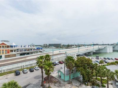 Photo for Large Corner Unit with Beach & John's Pass Views in Beach Side Complex - Free Wifi