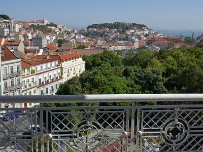 Photo for Elegant Apartment with a Panoramic View of Lisbon