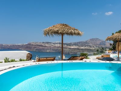 Photo for Silver Suite | Outdoor Pool Hot Tub & Panoramic Caldera View