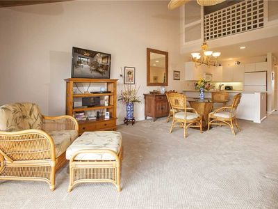 Photo for Maui Kamaole 2 bdrm loft condo with garden views sleeps 4. L-209