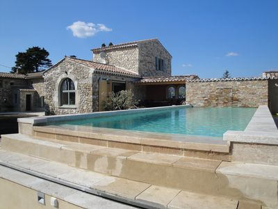 Photo for DROME PROVENCALE ,stylish luxury with views ,peace near local  restaurants