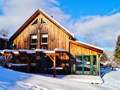 Photo for Uniquely situated chalet at an elevation of 1150 metres close to a beautiful skiing area