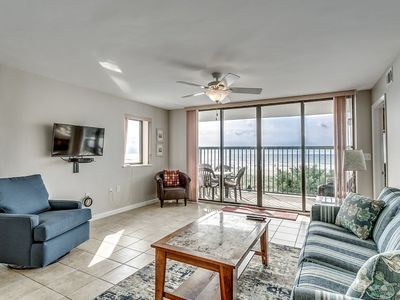 Photo for Oceanfront 1st Floor Condo, Two Balconies, Indoor Pool | Ocean Bay Club - 110