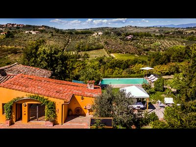 Photo for FABULOUS HOME WITH POOL & STUNNING VIEWS, IN GREAT LOCATION NEAR FLORENCE!