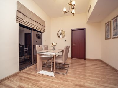 Photo for 1 BR 3 min. to the beach, Spacious &Cozy apartment in Jumeirah Beach Residence