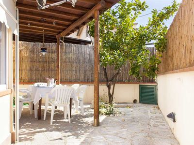 Photo for PETFRIENDLY APARTMENT WITH VERANDA NEAR THE BEACH OF SECCHETO - ELBA ISLAND