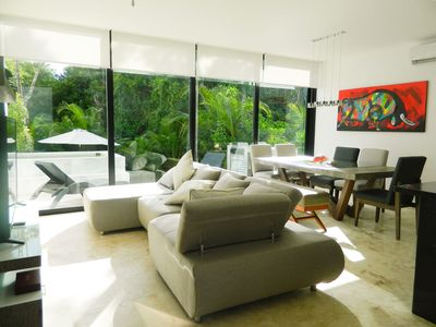 Photo for LUXURY TOWNHOUSE, PRIVATE POOL GOLF TWO BED ROOM TULUM
