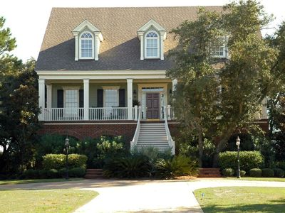 Photo for Spectacular Creekfront Home on DeBordieu Channel; You'll LOVE the Screened Porch!
