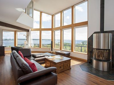 Photo for Executive Oceanfront Home. Stunning panoramic Ocean Views! Close to Peggy's Cove