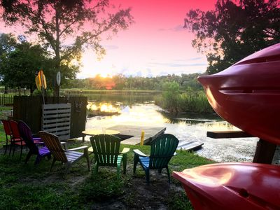 Photo for WATERFRONT • Kayaks included • Located in Homosassa, MANATEE CAPITAL of FLORIDA!